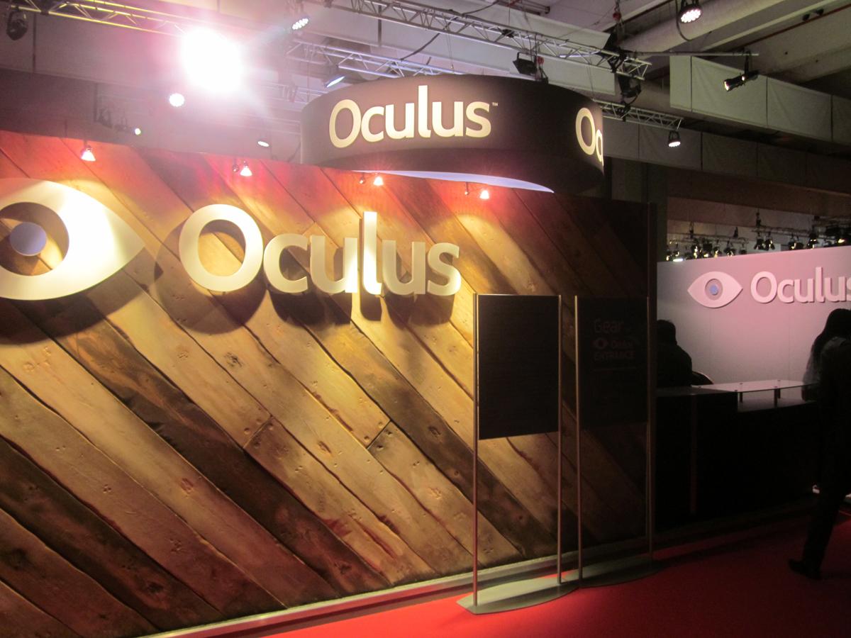 PGW 2014 : Nos photos du stand Oculus