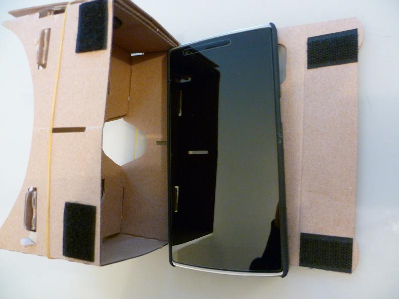 5.5 pouces, la taille vraiment maximum pour le Cardboard