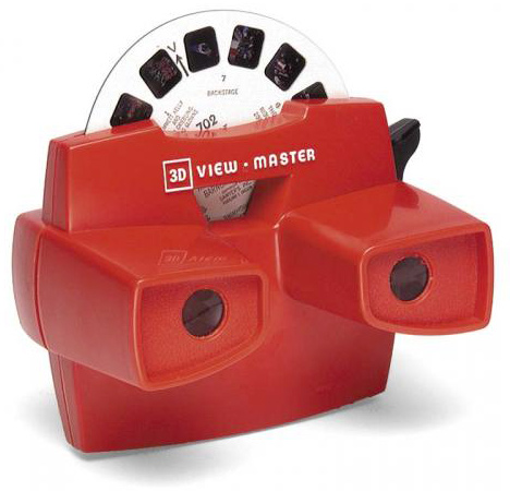 L'ancien 3D View Master