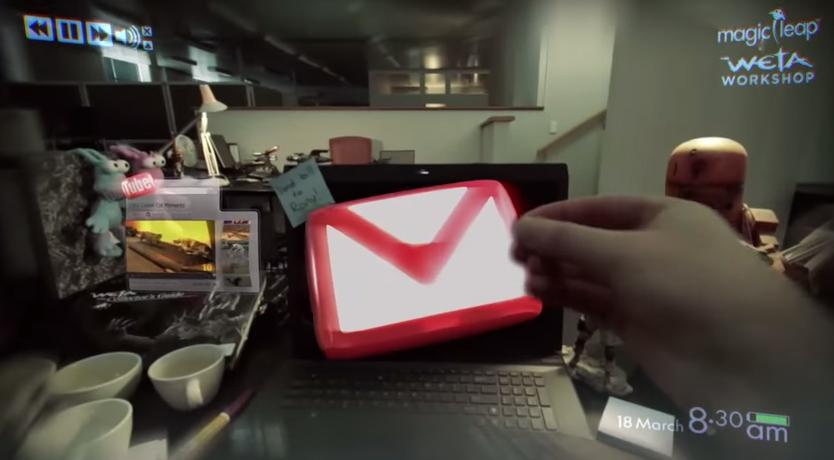 Démo Magic Leap Google