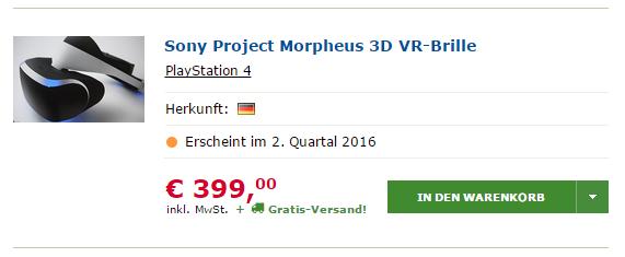 prix project morpheus