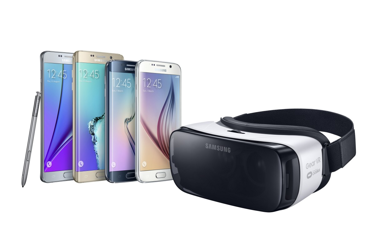 Gear VR galaxy phones