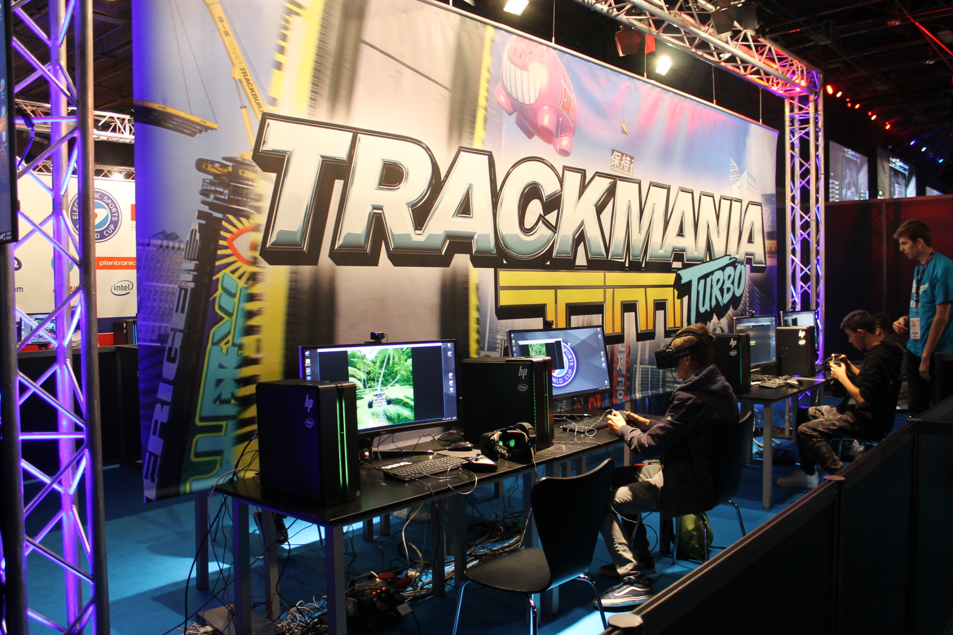 Trackmania Turbo Oculus RIft