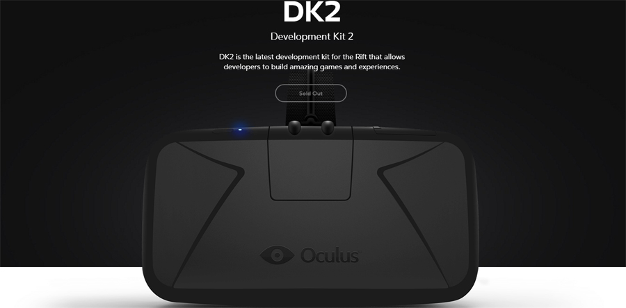 oculus dk2 sold out