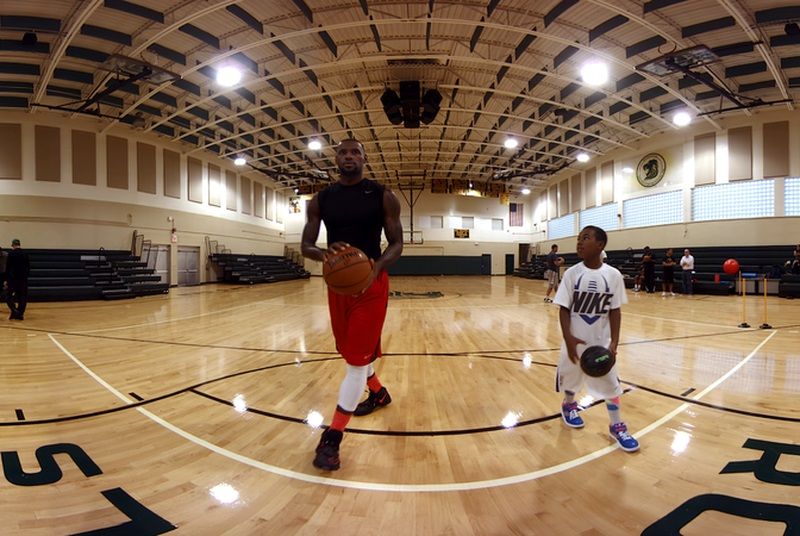 lebron james gear vr film