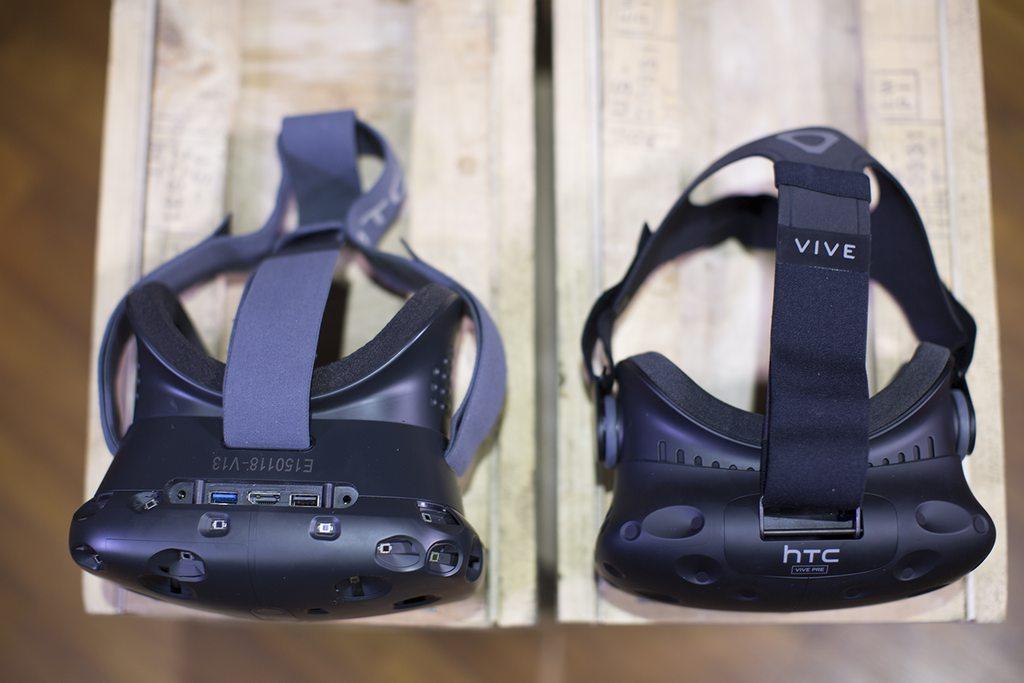 HTC Vive : Première VS deuxième version
