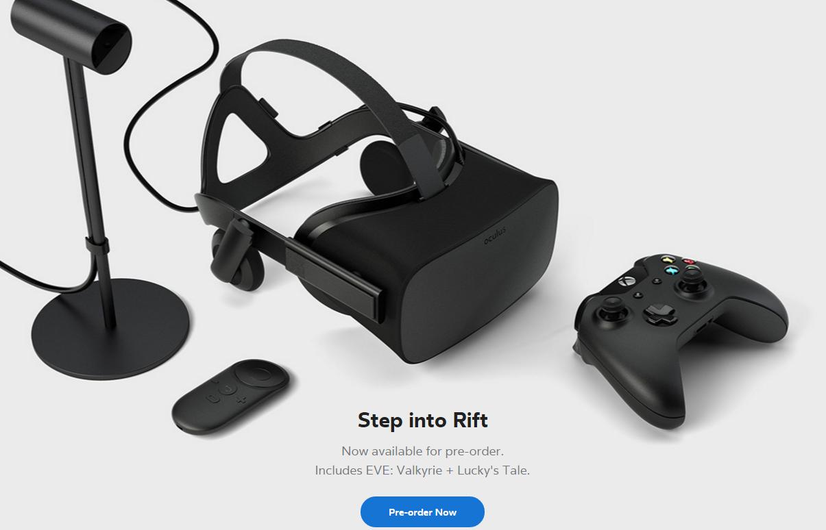oculus preorder image