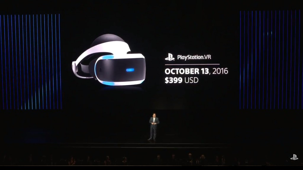 PSVR Launch Date