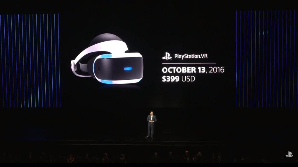 PSVR Launch Date
