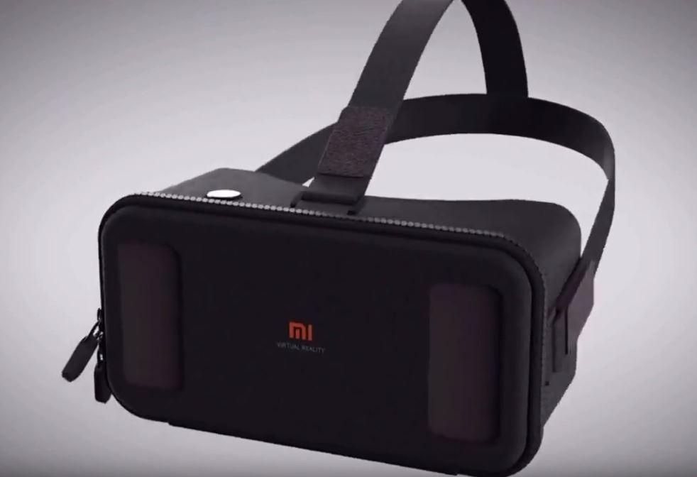 xiaomi d voile le mi vr un casque de r alit virtuelle. Black Bedroom Furniture Sets. Home Design Ideas