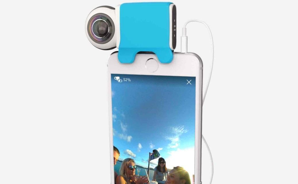 giroptic io une cam ra 360 pour iphone et ipad. Black Bedroom Furniture Sets. Home Design Ideas