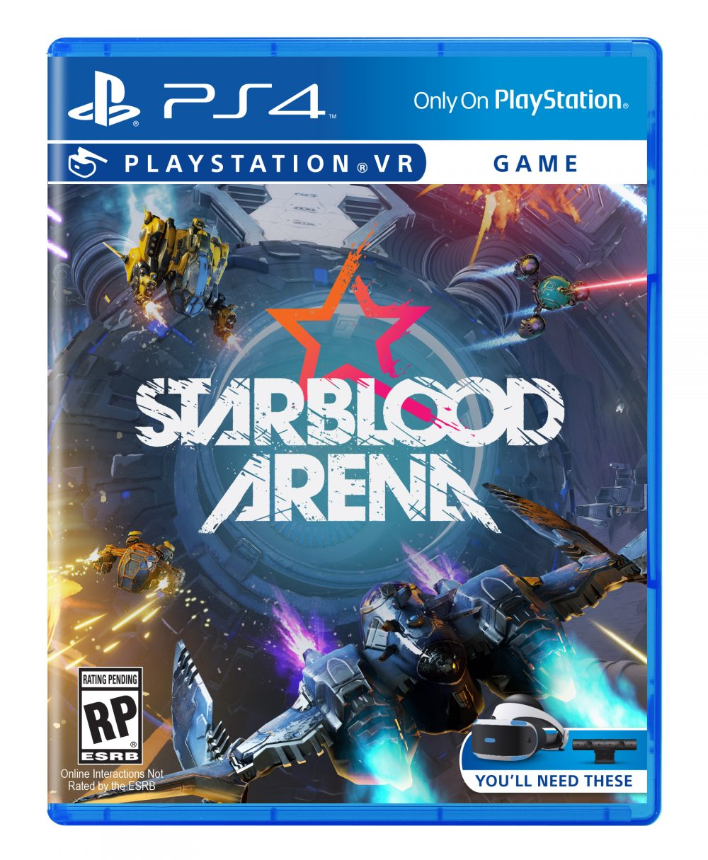 starblood arena annonc en exclu sur playstation vr. Black Bedroom Furniture Sets. Home Design Ideas