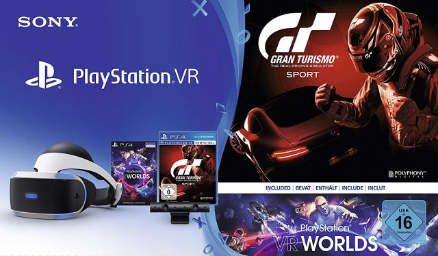 un bundle playstation vr cam ra gran turismo sport vr worlds. Black Bedroom Furniture Sets. Home Design Ideas