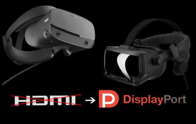 Oculus Rift S et Valve Index non compatibles avec les PC